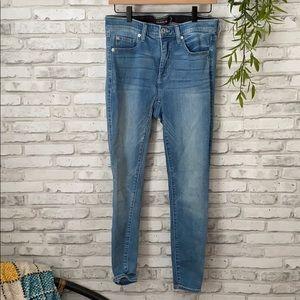 Torrid Sky High Rise skinny jeans size 10